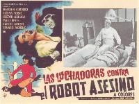 Las luchadoras vs el robot asesino movie